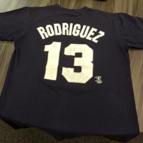 Majestic Other - ALEX RODRIGUEZ JERSEY TEE - NY YANKEES AROD SHIRT